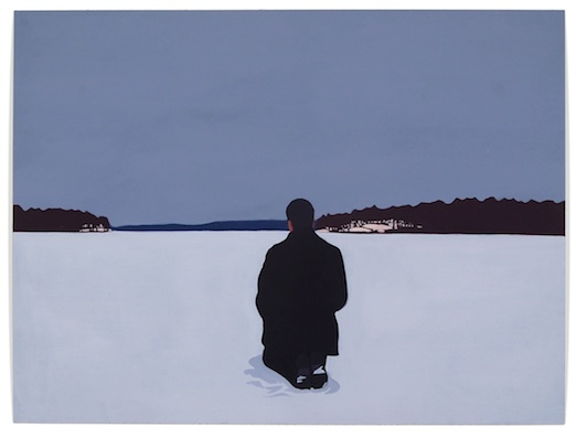 <h4><em>Frozen Lake</em></h4>                             2012                             <br /><br />                             Oil on resin paper                             </br>                             15 x 20 inches                              <br /><br />