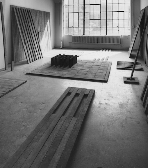 <h4><em>Orders Installation</em></h4>                             1972 - 1993                             <br /><br />                             Hudson Street Studio, New York                             <br /><br />